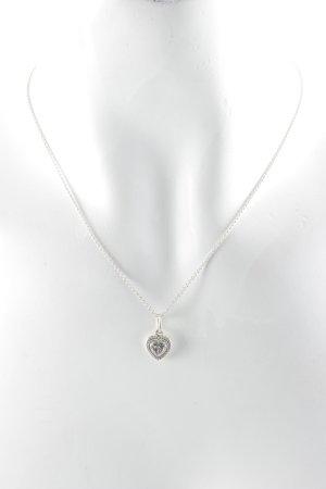 Pandora Halskette silberfarben Herzmuster Elegant