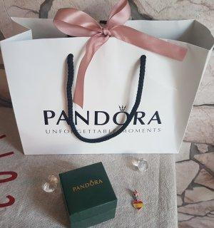 Pandora Herzflagge Spanien Charm-Anhänger Love Spain Herz Bead 925 Silber mit Box 791550ENMX