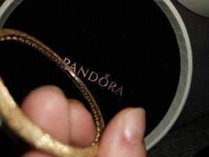 Pandora Jonc orange-abricot