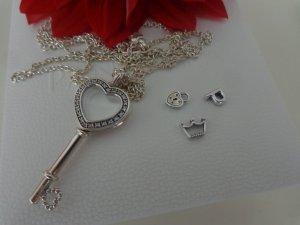 Pandora Medallion silver-colored real silver
