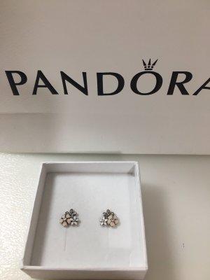 Pandora Ear stud white-rose-gold-coloured