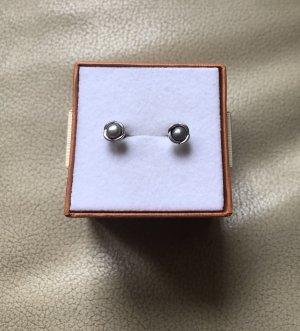 Pandora Zarcillo color plata-gris