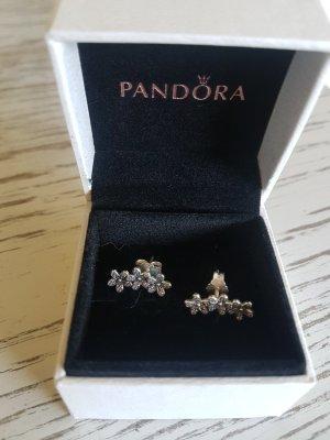 Pandora Oorstekers wit-zilver