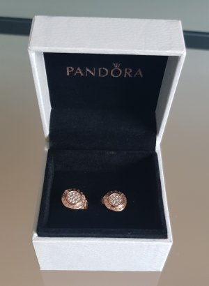 Pandora Zarcillo color rosa dorado