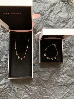 Pandora Pendente argento-oro