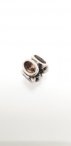Pandora Ciondolo argento-marrone