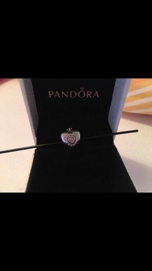 Pandora-Pinke Prinzessen Herz Charm