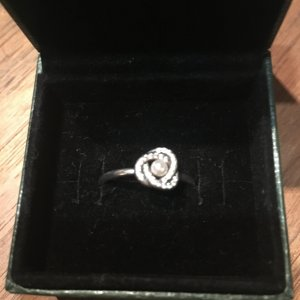 Pandora Zilveren ring lichtgrijs