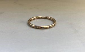 Pandora Ring 585/- Gold Gr 60