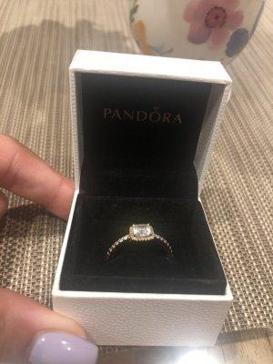 Pandora Zilveren ring roségoud Zilver