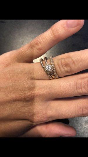 Pandora Ring Gold mit Steinen