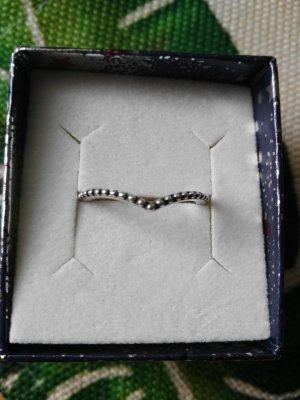 Pandora Zilveren ring zilver-korenblauw Zilver