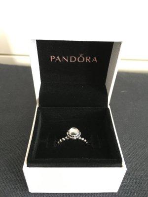 Pandora Ring mit Bergkristall