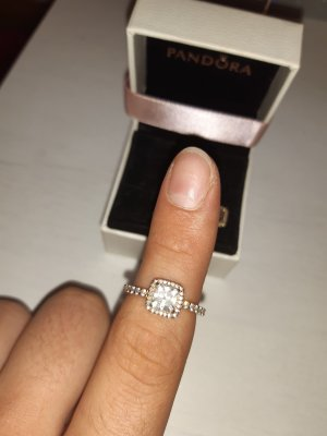 Pandora Ring Roségold 54