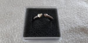 Pandora Silver Ring silver-colored real silver