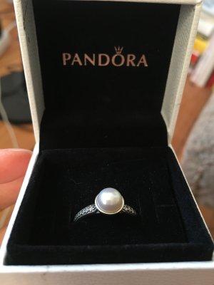 Pandora Ringe mit echter Perle aus Silber gr. 52