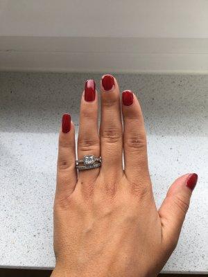 Pandora Ringe und Ohrring