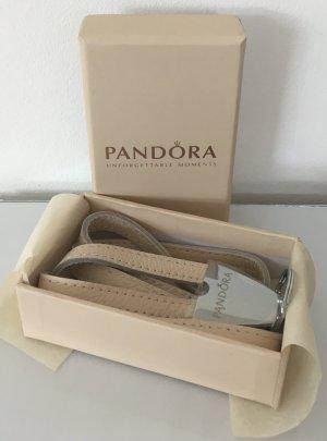 Pandora Porte-clés crème