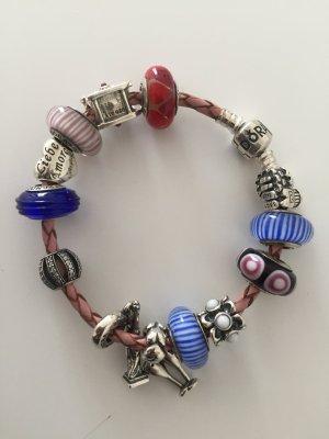 Pandora schmuck mit Armband Glas und Silber charms