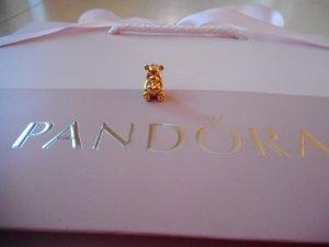 Pandora Ciondolo multicolore Argento