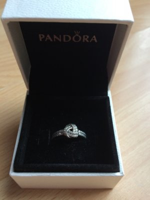 Pandora Silber Ring Liebesknoten