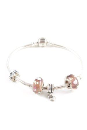 Pandora Silver Bracelet silver-colored casual look