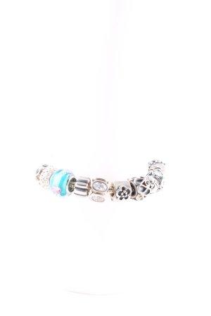 Pandora Braccialetto in argento multicolore con glitter