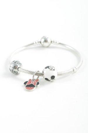 Pandora Bracelet en argent imprimé avec thème style romantique