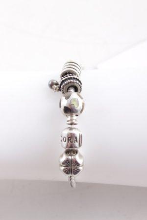 Pandora Silberarmschmuck silberfarben-grau Casual-Look