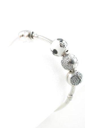 Pandora Silver Bracelet silver-colored street-fashion look