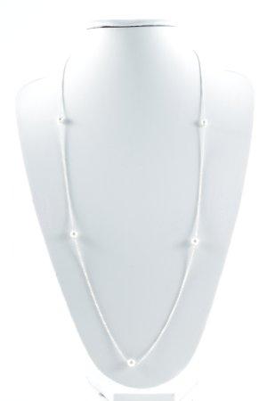 Pandora Chaîne en argent argenté-blanc élégant