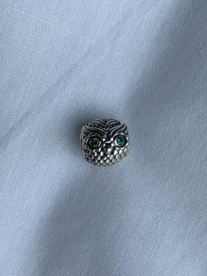 Pandora Dije color plata-verde bosque plata verdadero