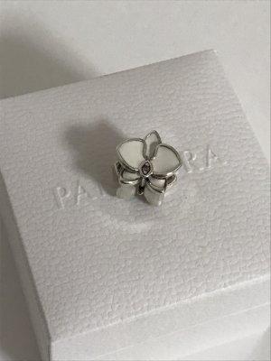 Pandora Charm white-silver-colored real silver