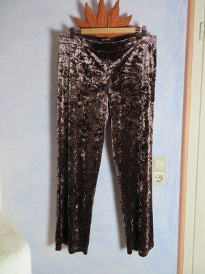 Féraud Pantalon palazzo gris brun polyester