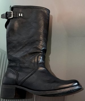 PANTANETTI Stiefel Stiefeletten Boots rahmengenäht wie MOMA Gr. 39 schwarz