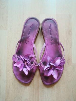 Tamaris Pantoufles violet