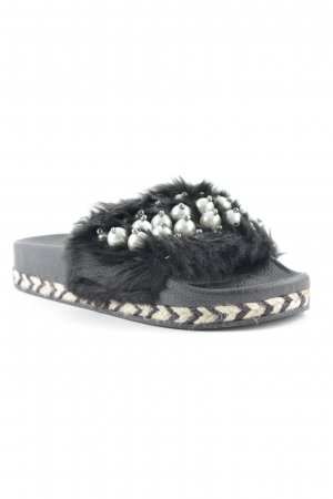Scuffs black-white Gypsy style