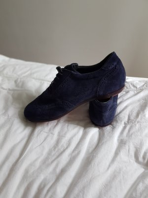 Pantofola d'oro Wingtip Shoes dark blue