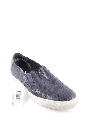 Pantofola d'oro Zapatos sin cordones azul oscuro estilo deportivo