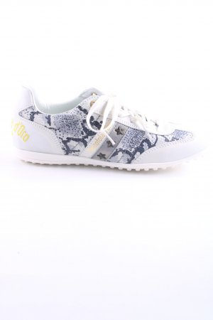 Pantofola d'oro Schnürsneaker Animalmuster Casual-Look