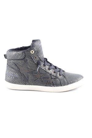 2272382a27e Pantofola d'oro Sneakers met veters zwart-donkergrijs casual uitstraling
