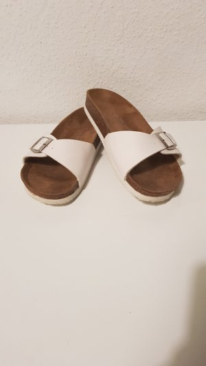 Atmosphere Mules white