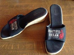 Pantolette Graceland schwarz Größe 38