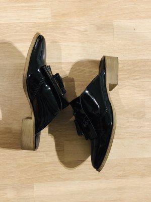 Asos Sabots black leather
