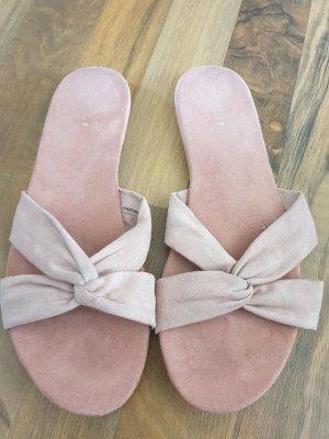 H&M Beach Sandals dusky pink