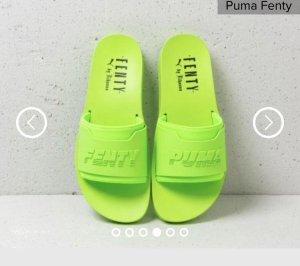 Fenty Puma by Rihanna Mule vert fluo