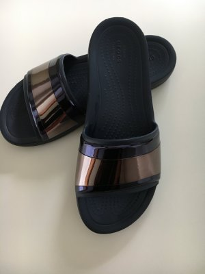 Crocs Sabots dark blue-rose-gold-coloured