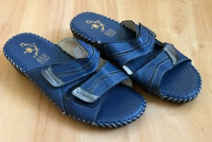 Pantoletten Schuhe Anti Shock blau Größe 38 neu