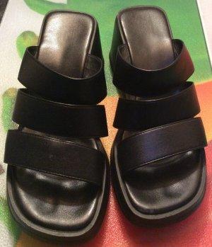 Pantoletten , schwarz Gr 38 ESPRIT