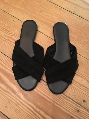 Pieces Mules black
